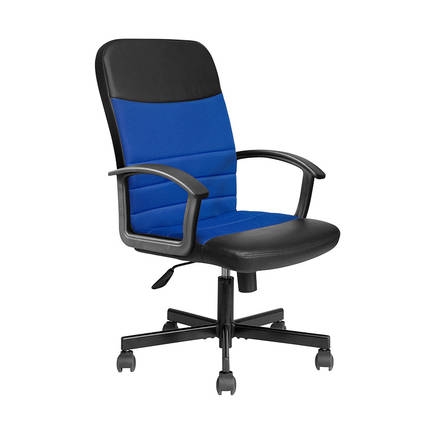 MAX OFFICE - Max Office Easy File Kumaş Yönetici Koltuğu - Mavi