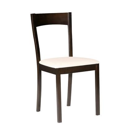 Adore Mobilya - Mia Doğal Ahşap Sandalye - İspanyol Ceviz (2 Adet Satılır)