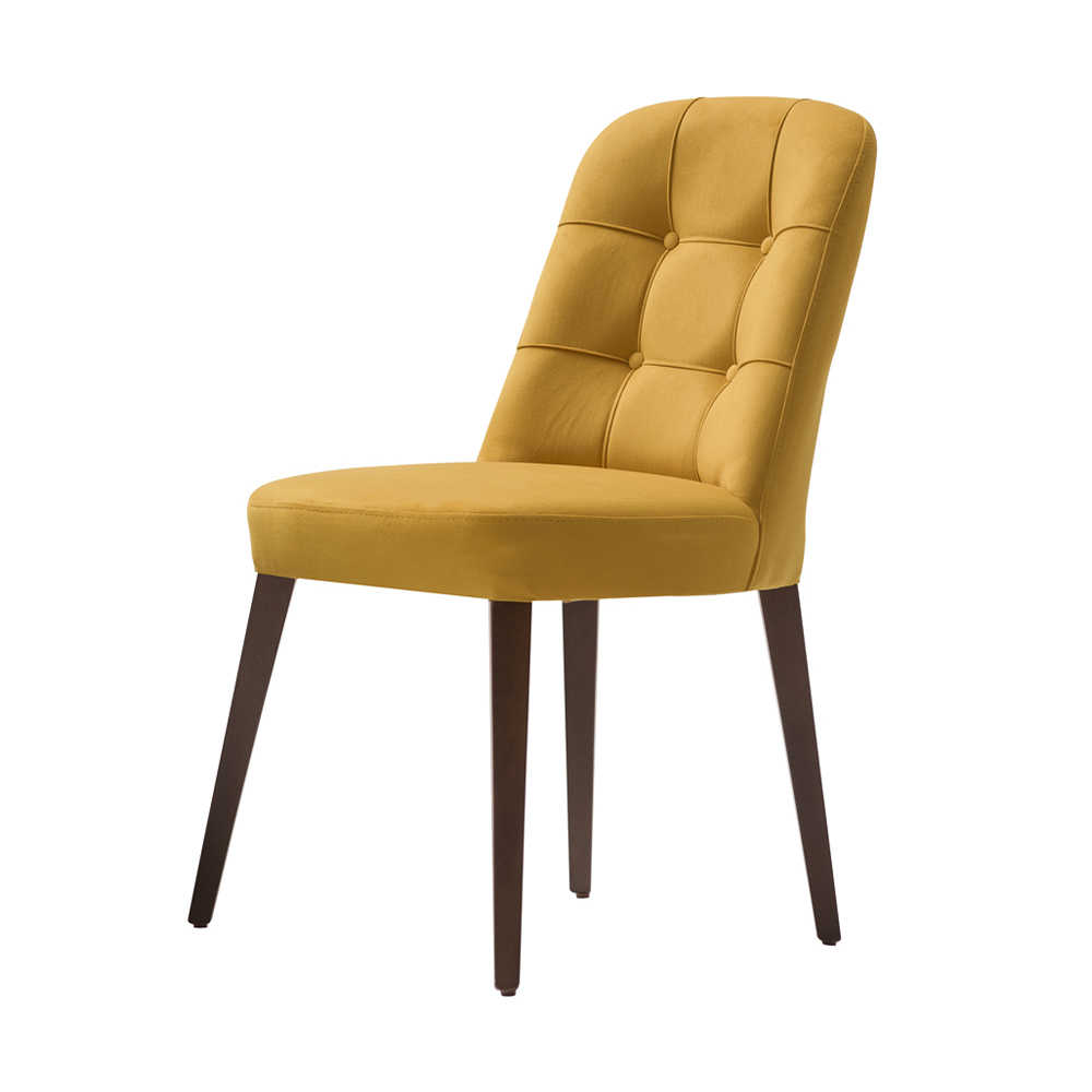 Navona Masif Sandalye-Sarı/Gri
