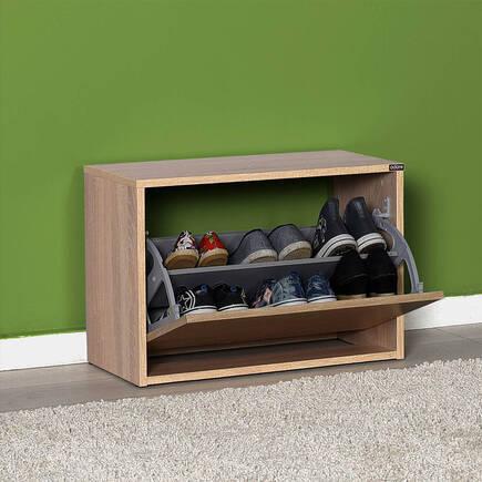 New Step Oturaklı Ayakkabılık - Sonoma - Thumbnail