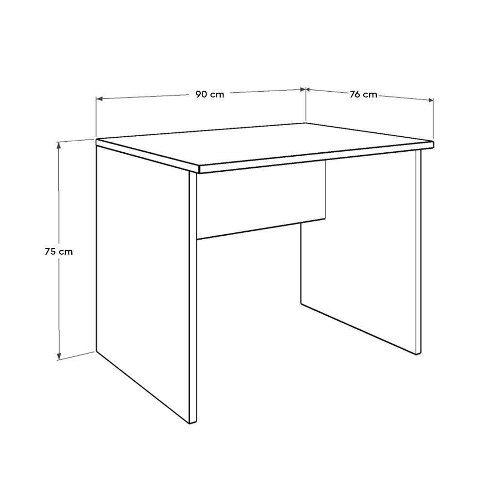 Newyork Ofis Masası Köşe İlave/PC Masası - Latte