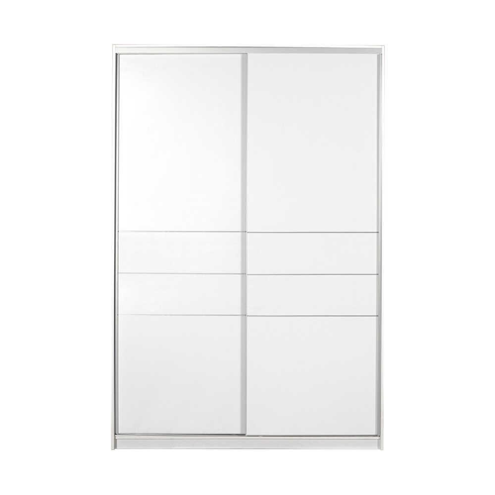 Platinum Plus Sürgü Kapılı Gardırop - Beyaz