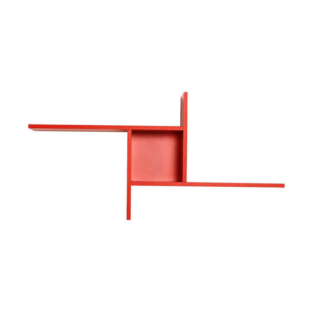 Plus Dekoratif Duvar Rafı - Kırmızı