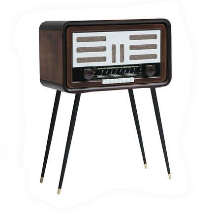 Adore Mobilya - Radyo Retro Sehpa