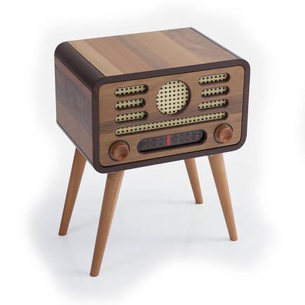 Radyo Sehpa-Ceviz - Thumbnail