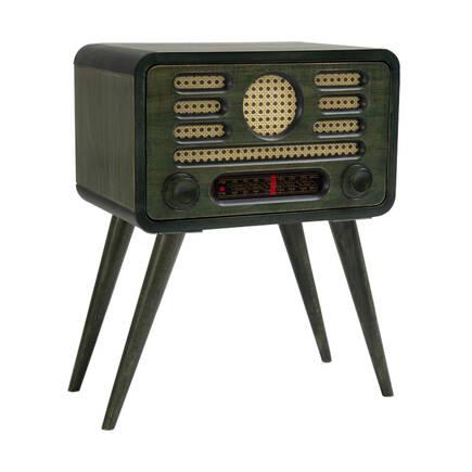 Adore Mobilya - Radyo Sehpa-Yeşil