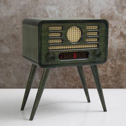 Radyo Sehpa-Yeşil - Thumbnail