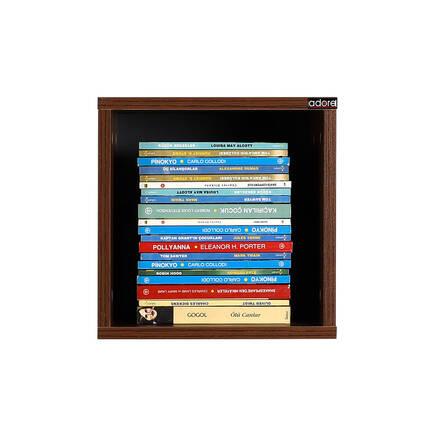 Rainbow Genç Odası Duvar Rafı-Ceviz - Thumbnail