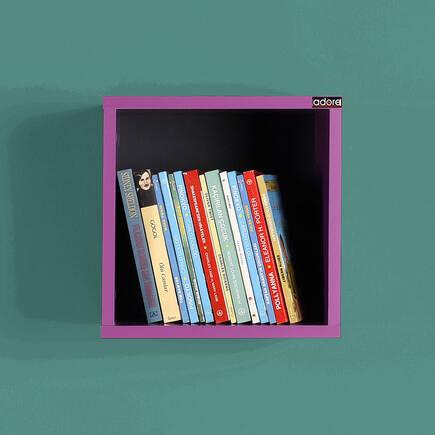 Rainbow Genç Odası Duvar Raf-Mor - Thumbnail
