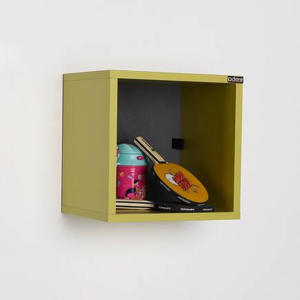 Rainbow Genç Odası Duvar Rafı-Yeşil - Thumbnail
