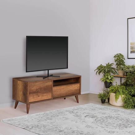 Retro Çekmeceli Tv Sehpası-Oslo Ceviz - Thumbnail