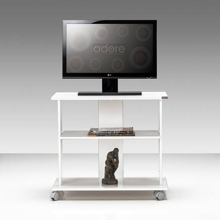 Süper Multimedya TV Sehpası - Lake Beyaz - Thumbnail