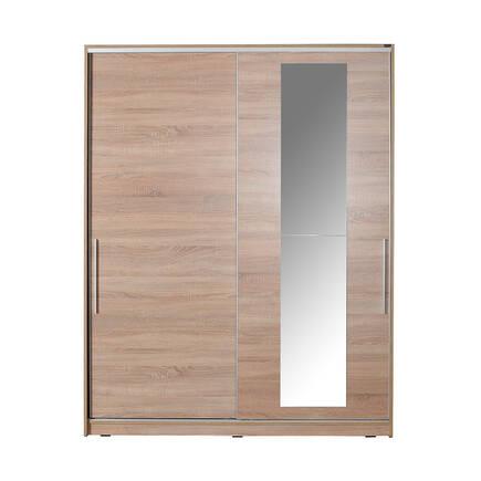 Sürgü Kapılı Aynalı Gardırop - Sonoma - Thumbnail