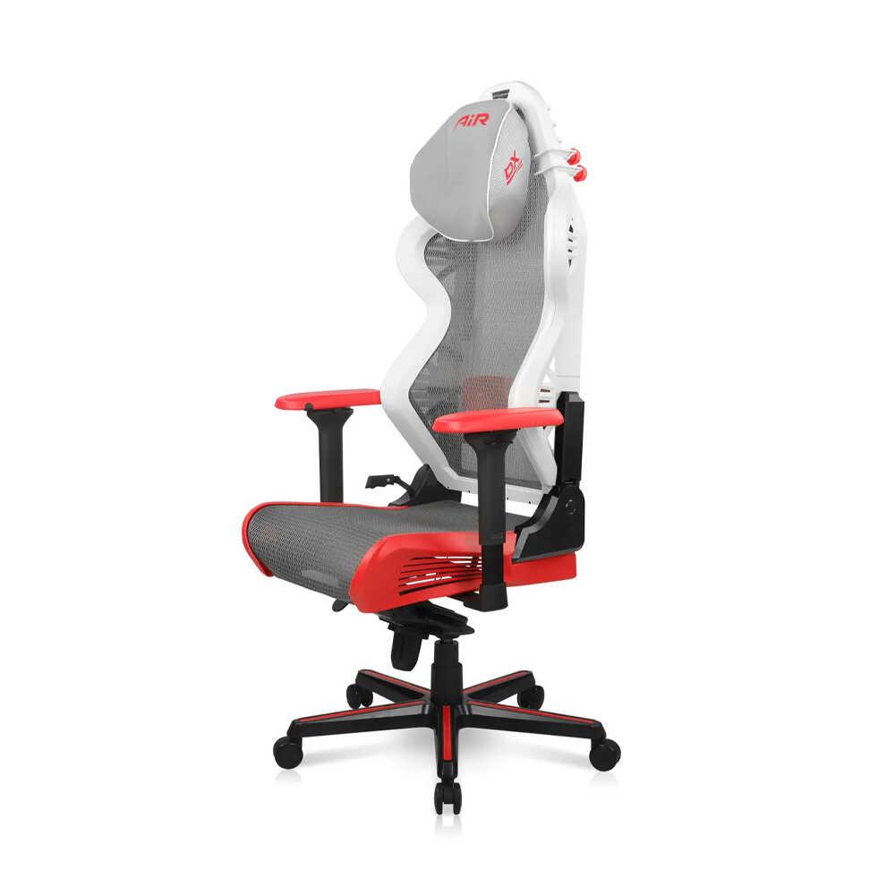 DXRacer AIR Serisi Profesyonel Çalışma ve Oyun Koltuğu - Beyaz Kırmızı