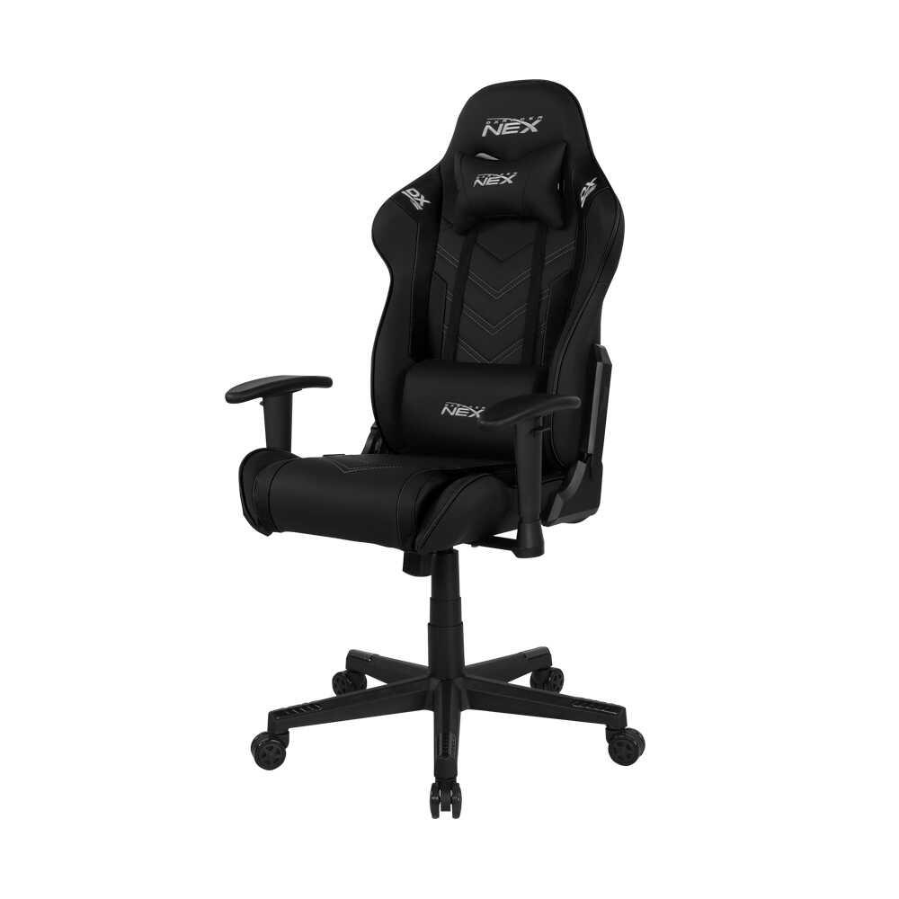 DXRacer Nex Serisi Profesyonel Çalışma ve PC Oyun Koltuğu - Siyah