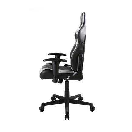 DXRacer Profesyonel Çalışma ve PC Oyun Koltuğu - Siyah Beyaz - Thumbnail