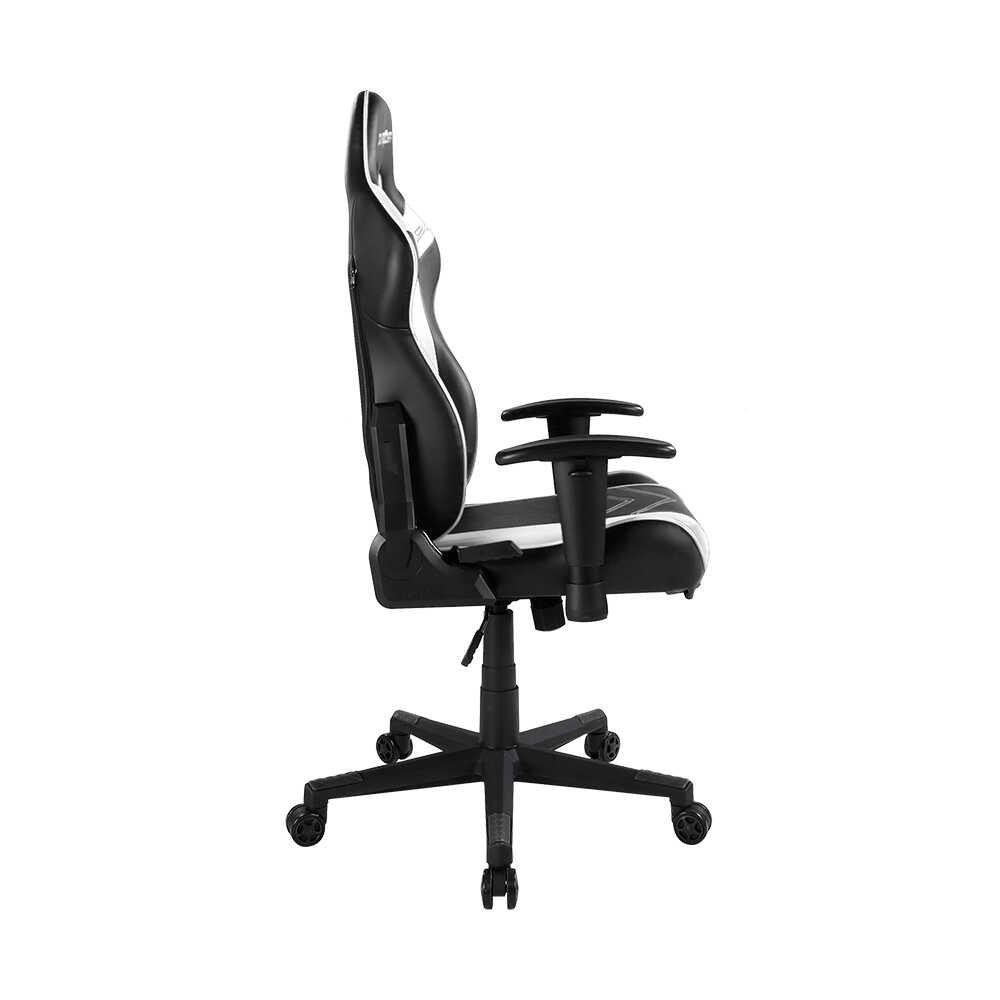 DXRacer Profesyonel Çalışma ve PC Oyun Koltuğu - Siyah Beyaz