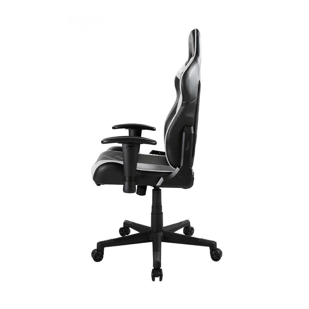 DXRacer Optimum Serisi Profesyonel Çalışma ve PC Oyun Koltuğu - Siyah Beyaz