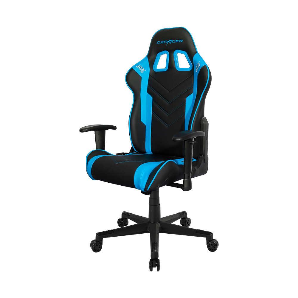 DXRacer Profesyonel Çalışma ve PC Oyun Koltuğu - Siyah Mavi