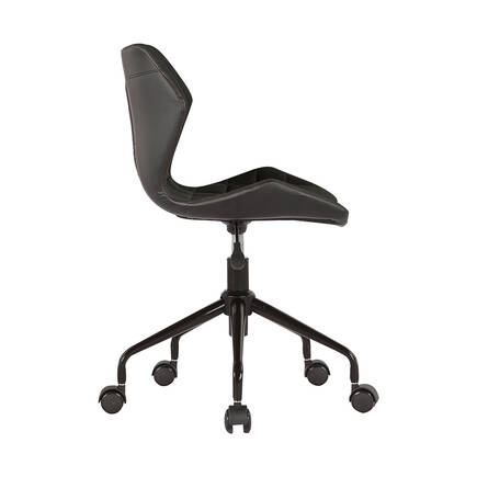 Handy Mate Retro Çalişma Sandalyesi - Siyah - Thumbnail