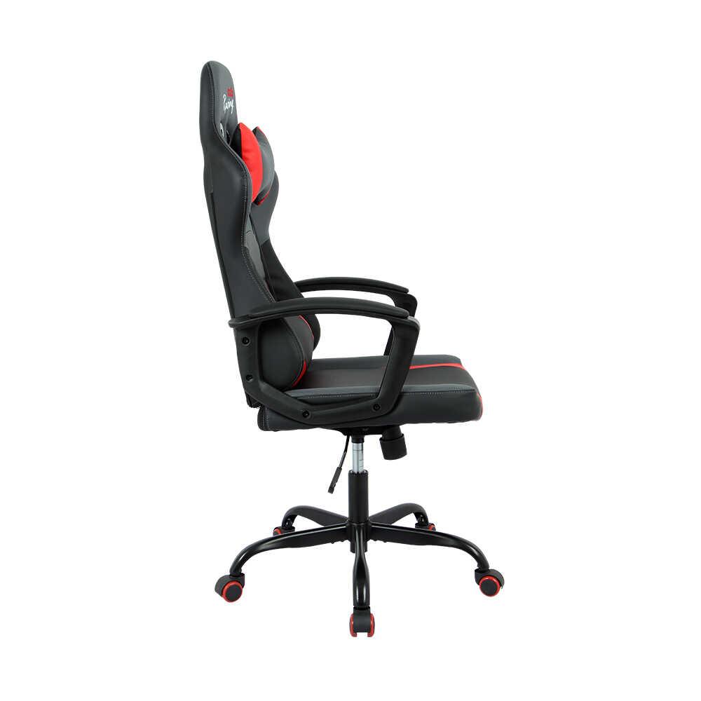Max Racing Speed Oyuncu ve Çalışma Koltuğu - Siyah Gri Kırmızı