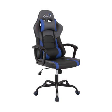 Max Racing - Max Racing Speed Oyuncu ve Çalışma Koltuğu - Siyah Mavi