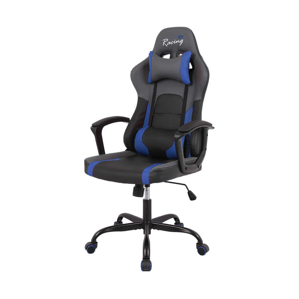 Max Racing Speed Oyuncu ve Çalışma Koltuğu - Siyah Mavi