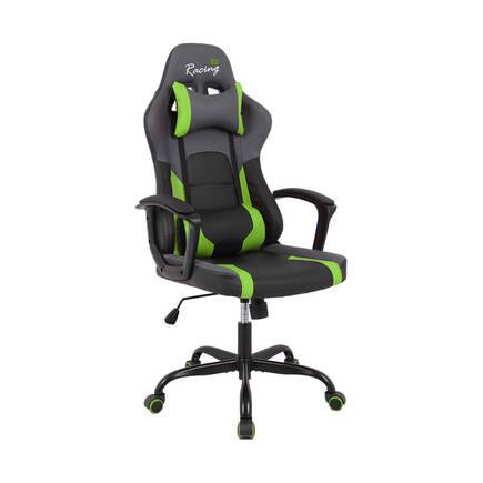 Max Racing - Max Racing Speed Oyuncu ve Çalışma Koltuğu - Siyah Yeşil