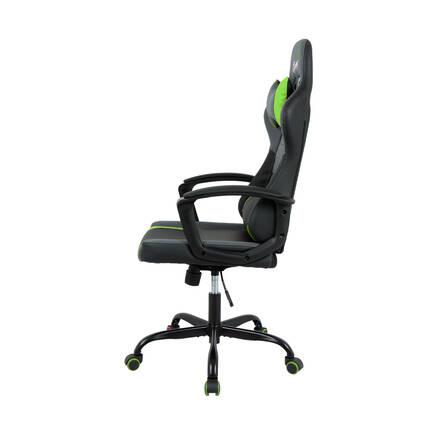 Max Racing Speed Oyuncu ve Çalışma Koltuğu - Siyah Yeşil - Thumbnail