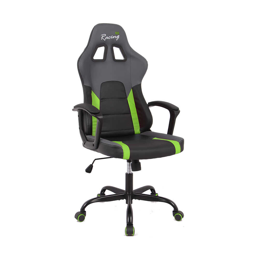 Max Racing Speed Oyuncu ve Çalışma Koltuğu - Siyah Yeşil