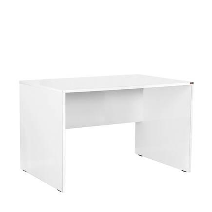 Adore Mobilya - Newyork Geniş Ofis Çalışma Masası - Diamond Beyaz