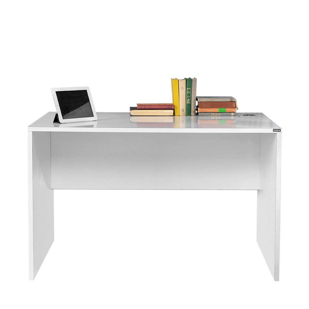 Newyork Geniş Ofis Çalışma Masası - Diamond Beyaz