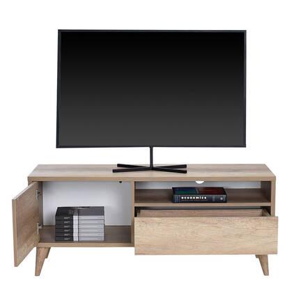 Retro Çekmeceli Tv Sehpası - Tori - Thumbnail