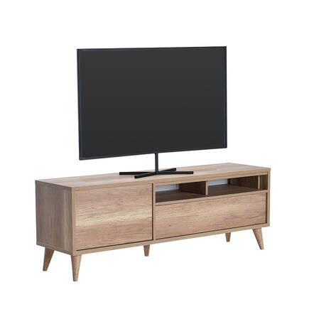 Adore Mobilya - Retro Wide Kapaklı Çekmeceli Tv Sehpası - Tori