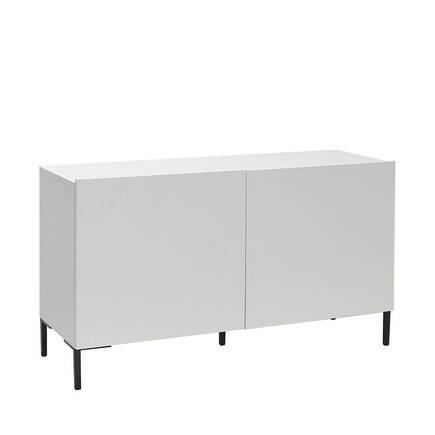 Adore Mobilya - Sonsuz 2 Kapaklı Tv Ünitesi - Diamond Beyaz