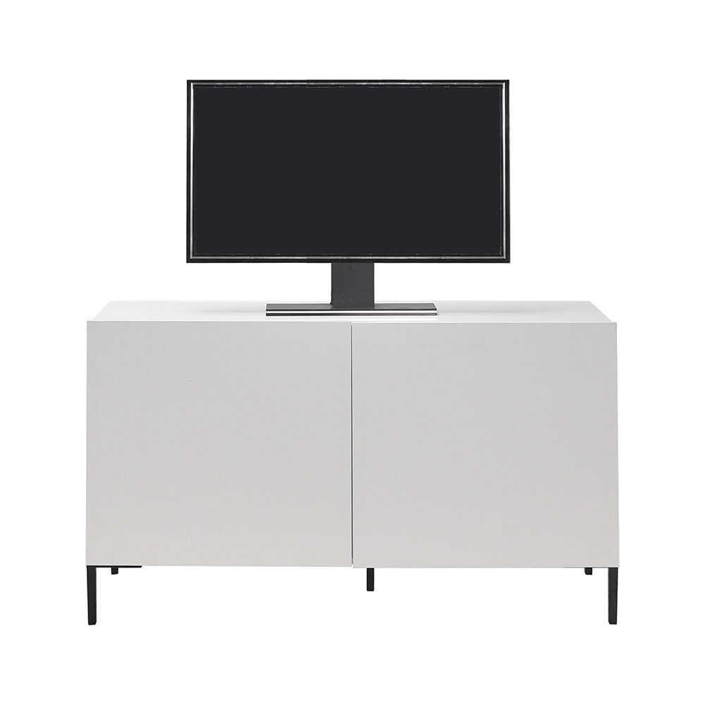 Sonsuz 2 Kapaklı Tv Ünitesi - Diamond Beyaz